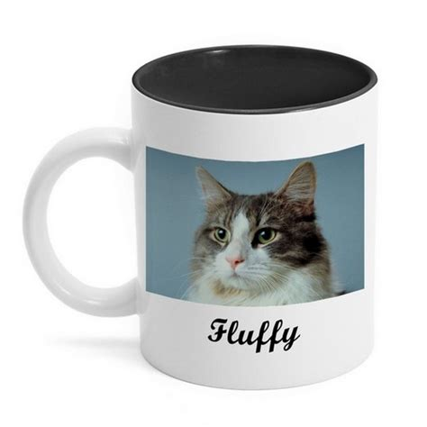 design your own mug black design your own photo mug with black interior