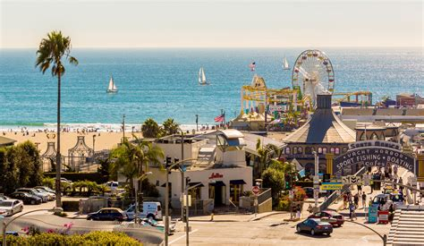 pier santa monica 5 places to visit in la from the westside to the eastside