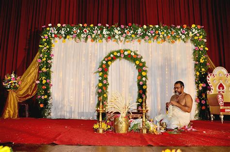 about decoration 94 simple reception stage decoration best design