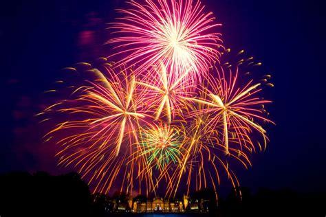 christmas lights fireworks fantastic fireworks