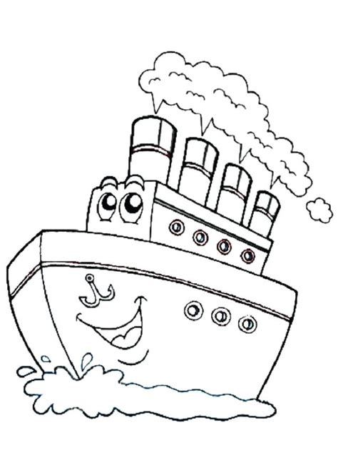 imagenes de barcos para colorear e imprimir pagina para colorear barco homelandsecuritynews