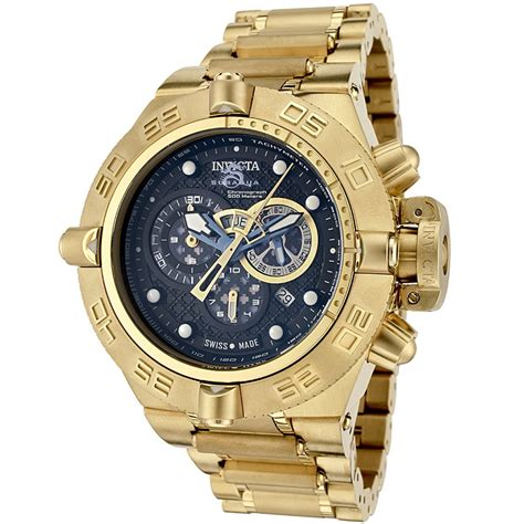 mens gold watches invicta watches subaqua for
