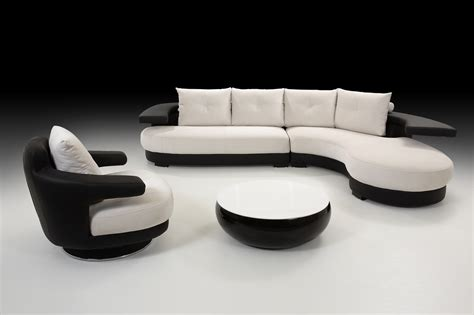 Black And White Loveseat Cosmo Black And White Leather Corner Sofa Right Best