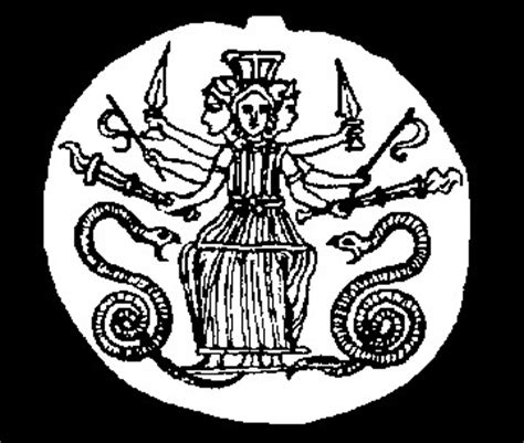 hecate symbolism the demoniacal hecate