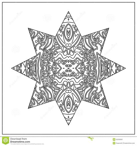 zentangle pattern tribe tribal coloring zentangle stock illustration image 55330091