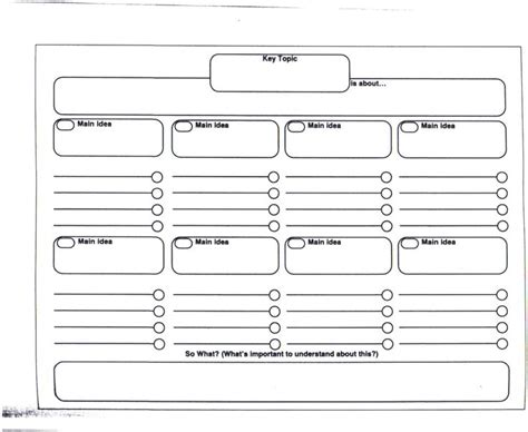graphic organizer research paper 7 best brainstorming exles images on