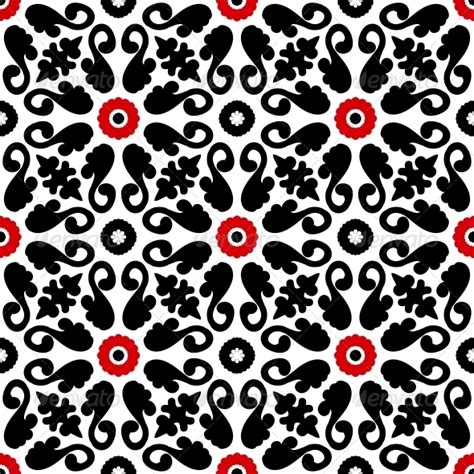 turkish pattern ai suzani vector pattern with bold floral ornament