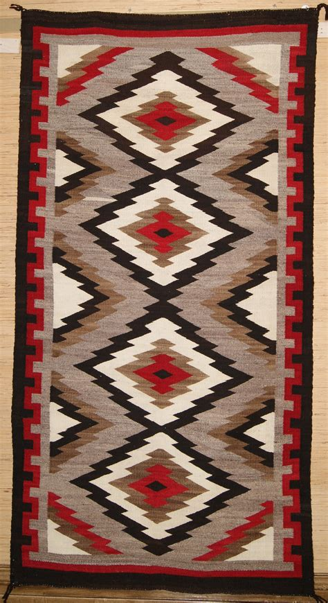 historic navajo rug weaving circa 1930