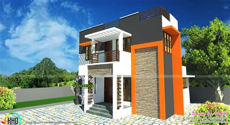 small contemporary house designs small and beautiful contemporary house kerala home