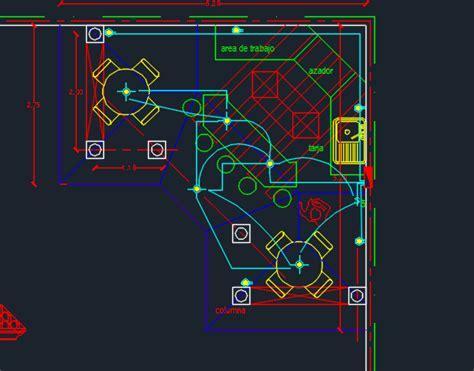 coffee shop design dwg coffee shop 2d dwg design plan for autocad designs cad