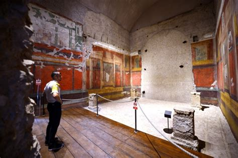 the room palatine rooms in emperor s house open 2 000 years after lifestyle from ctv news