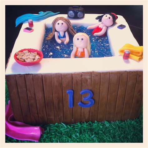 bathtub party hot tub party cake loved and pinned by www