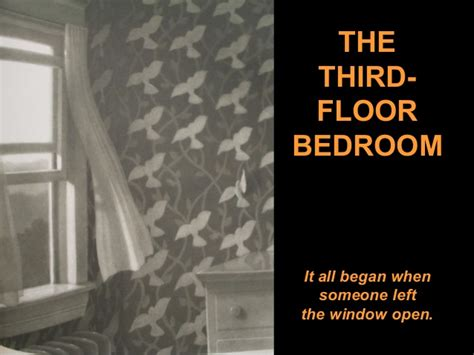 the third floor bedroom the mysteries of harris burdick art