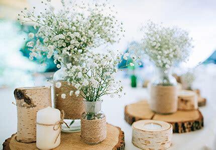 Hochzeitsdeko Natur by Hochzeitsplanung Hochzeit Selber Planen