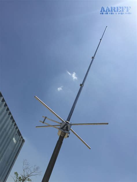 wave kw vertical high gain fm broadcasting antenna