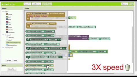 construct 2 accelerometer tutorial app inventor 2 tutorial android accelerometer control