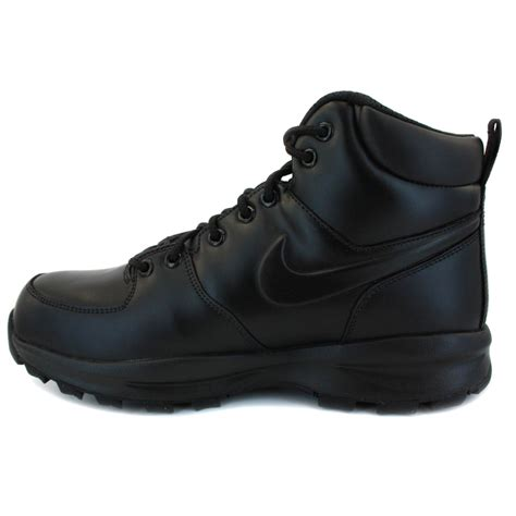 nike sneaker boots mens nike manoa acg mens leather boots black
