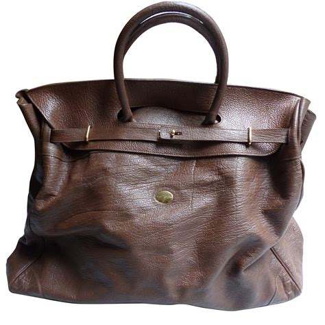 douglas travel mac douglas travel bag travel bag leather brown ref 27913
