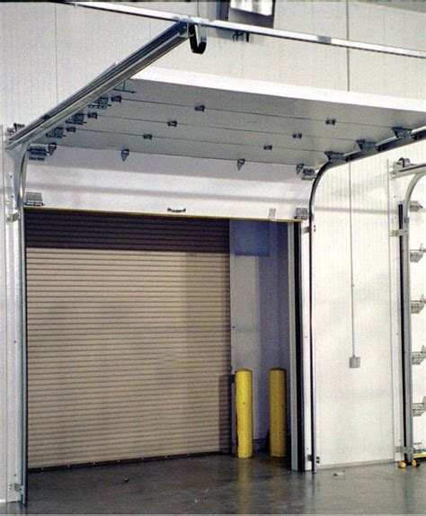 overhead sectional doors frank door company the leader in cold storage door
