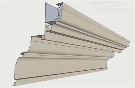 Roof Cornice Design Formed Aluminum Cornices Saf Southern Aluminum