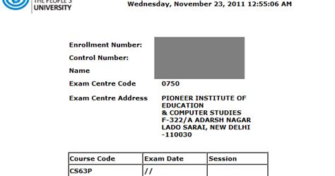 Mba Is My Ticket by Ignou Mba Mca Bca Ticket June 2012