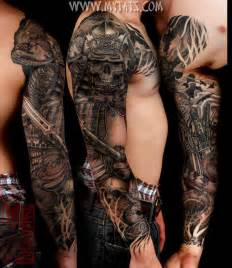 3d sword skull and flying bird tattoo on whole arms tattoosgallaries