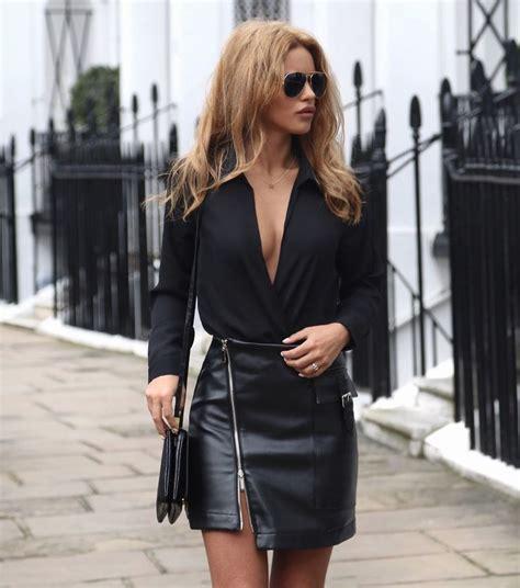 best 25 leather skirt ideas on