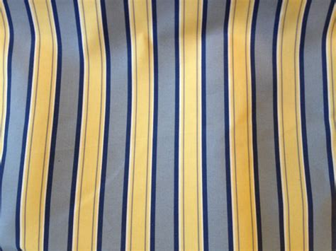 home decor weight fabric blue and yellow stripe medium weight home decor fabric by yard