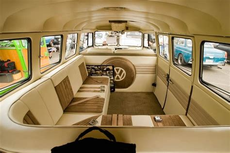 Vw Bus Interior Google Haku Vw Bussit Pinterest