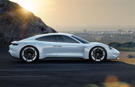 porsche sports car porsche mission e ev sports car development starts