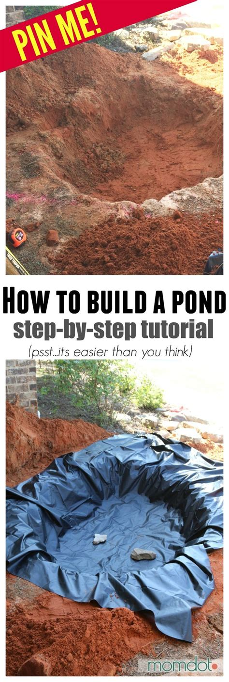 how to build a pond in backyard 25 best pond ideas on pinterest garden ponds pond