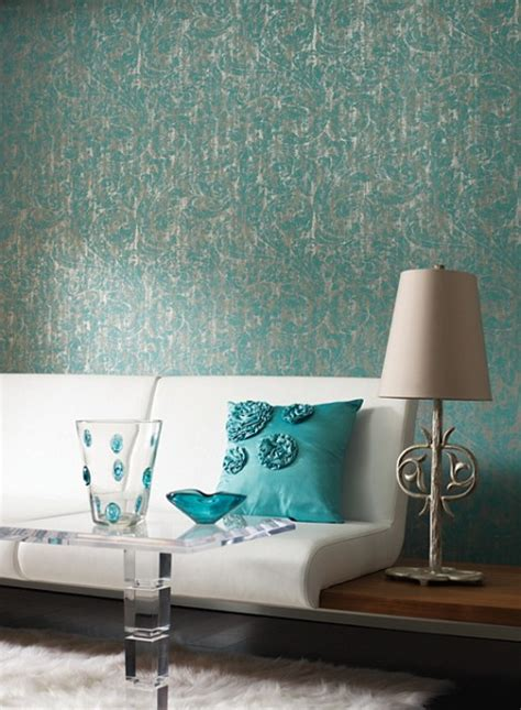 wallpaper ideas  decorating  interiors