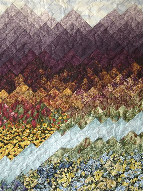 Landscape Quilt Images Hummingbird Hill Quilting Quilts For Sale