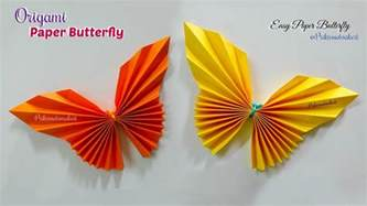 Folded Paper Butterfly - paper butterfly how to make paper butterfly origami