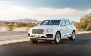 Bentley Suv Bentley Bentayga The New Suv Eat Savor