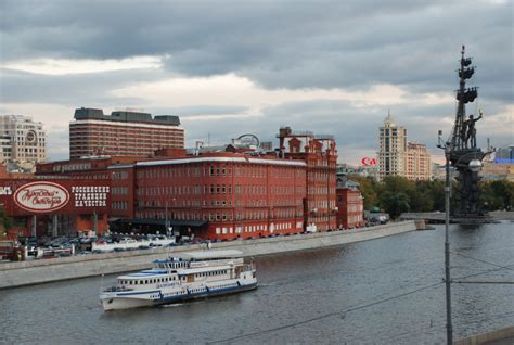 Offices by Moscow Office From Across The Moscow River Prp