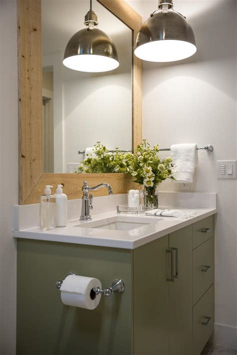 Hanging Bathroom Light Lighting Design From Hgtv Smart Home 2015 Hgtv Smart Home Hgtv