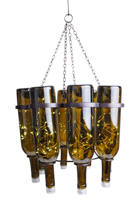 Glass Bottle Chandelier Wine Bottle Chandelier