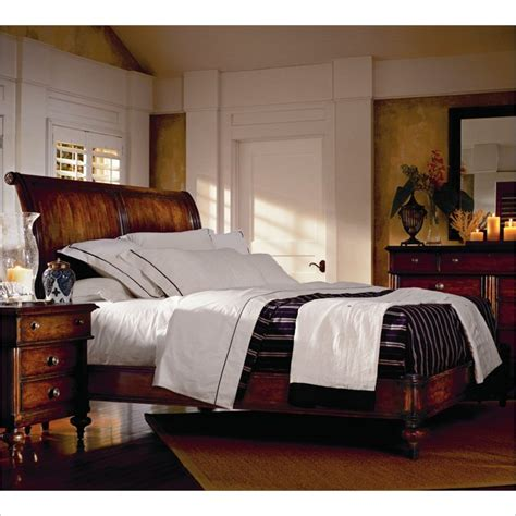 british colonial bedroom furniture british colonial 4 piece sleigh bedroom set in caribe