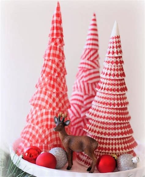 cupcake liner trees cupcake liner cone tree allfreechristmascrafts