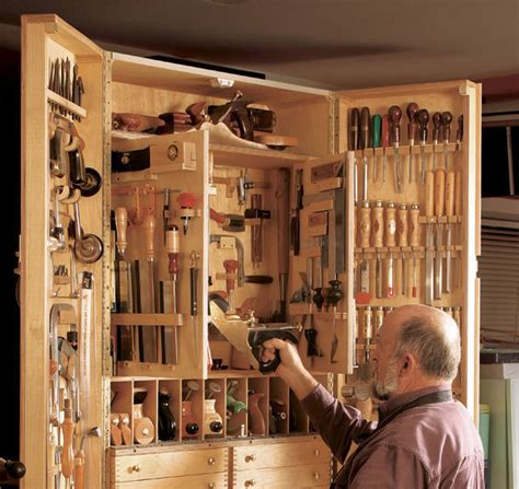 hanging  heavy tool cabinet finewoodworking