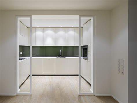 Sliding Kitchen Doors Interior by Elegant Interior Design A Duplex Apartment With A