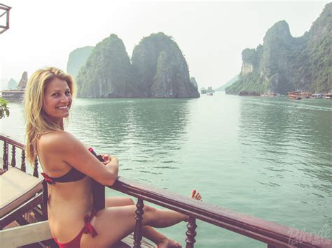 model boats hanoi ha long bay junk boat cruise the blonde abroad