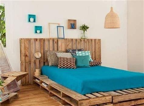 cama con estibas 25 camas hechas con palets que te encantar 237 a tener
