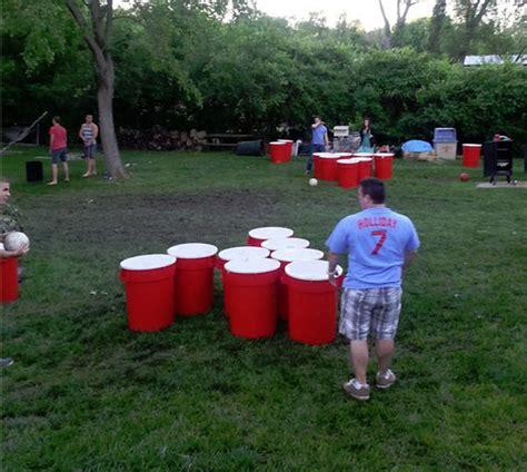 backyard beer pong beer kong bits and pieces