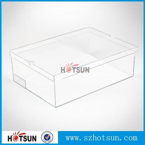 Transparant Shoes Box4 manufacturer wholesale transparent acrylic nike