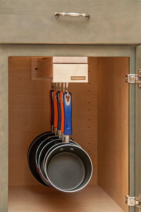 kitchen storage cabinets for pots and pans 12 best glideware for your home hanging pot and pan