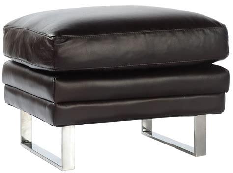 ottoman furniture melbourne melbourne dark chocolate leather ottoman from lazzaro wh