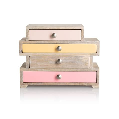 Drawer Jewelry Box by Wooden Jewelry Box With Drawers Caymancode