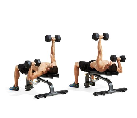 dumbbell bench press exercise the 25 most powerful exercises from the 21 day shred